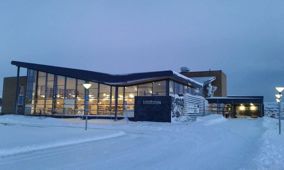 Vadsø bibliotek (foto: Lisbeth R. Dragnes)