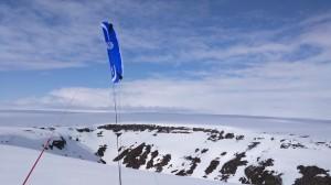 Nattfjelldalen med kite (foto: Øyvind Stangnes)