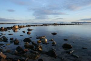 Utsikt fra Makkenes til Vadsø (foto: Cecilie Hansen)